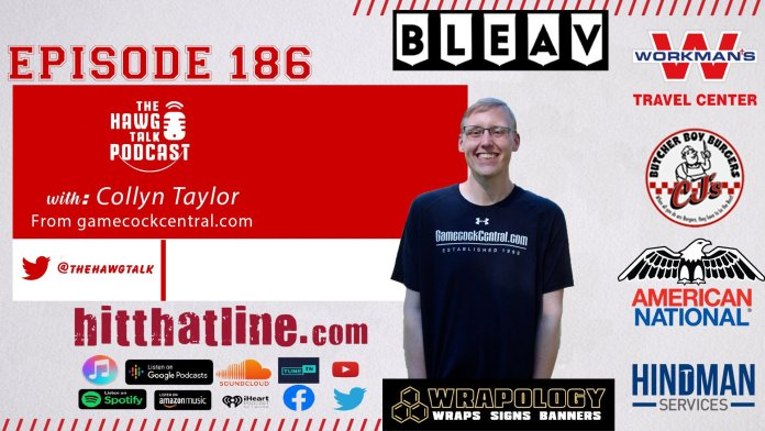 THE HAWG TALK PODCAST Episode 186: Collyn Taylor