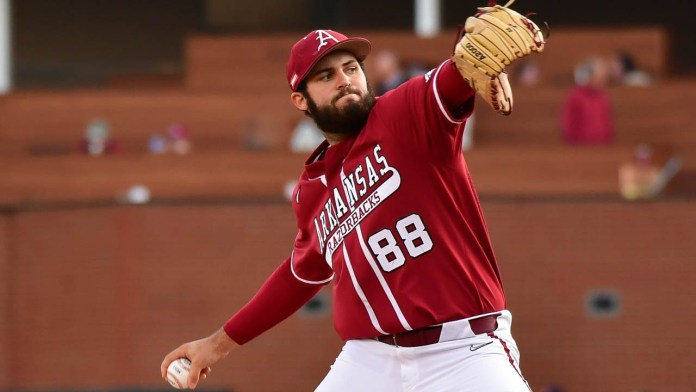 Henry, Carroll on Hogs needing to solidify pitching, starting faster
