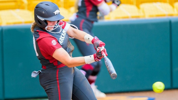 Hogs win first-ever SEC title downing LSU in second game