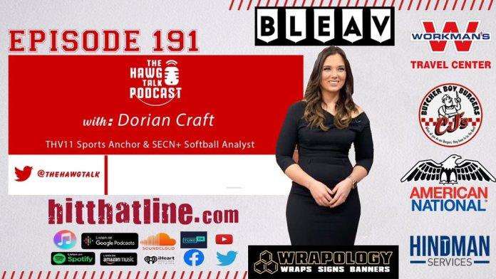 THE HAWG TALK PODCAST Episode 191: THV 11's Dorian Craft