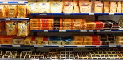 Tillamook Cheese display