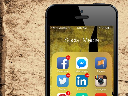 Social Media Overload from your iPhone