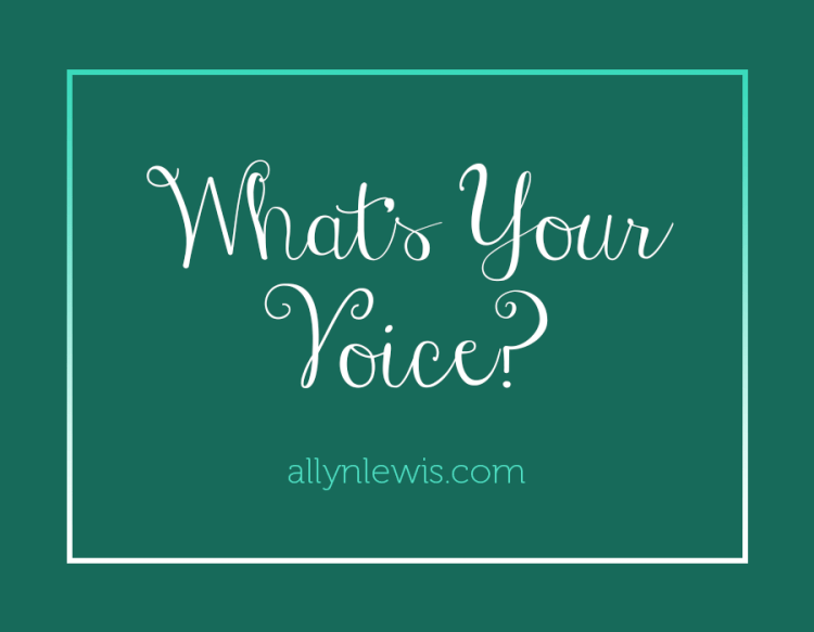 What's Your Voice?