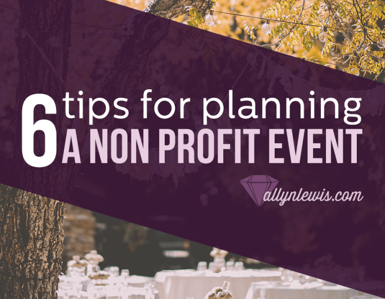 6 Tips to Boost Your Non Profit Event