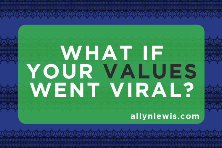 What If Your Values Went Viral? A Lesson to Take From #TheDress