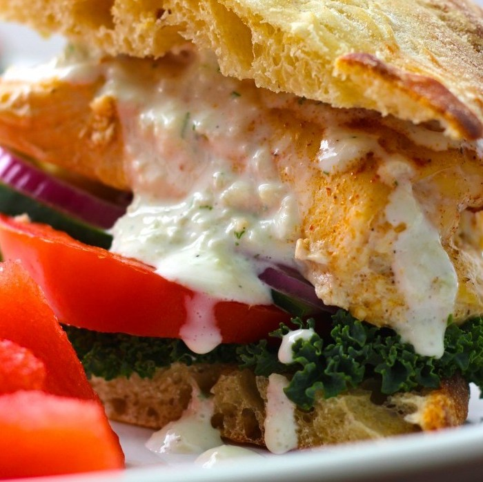 Greek Chicken Feta Burgers That Are SO Worth the Mess