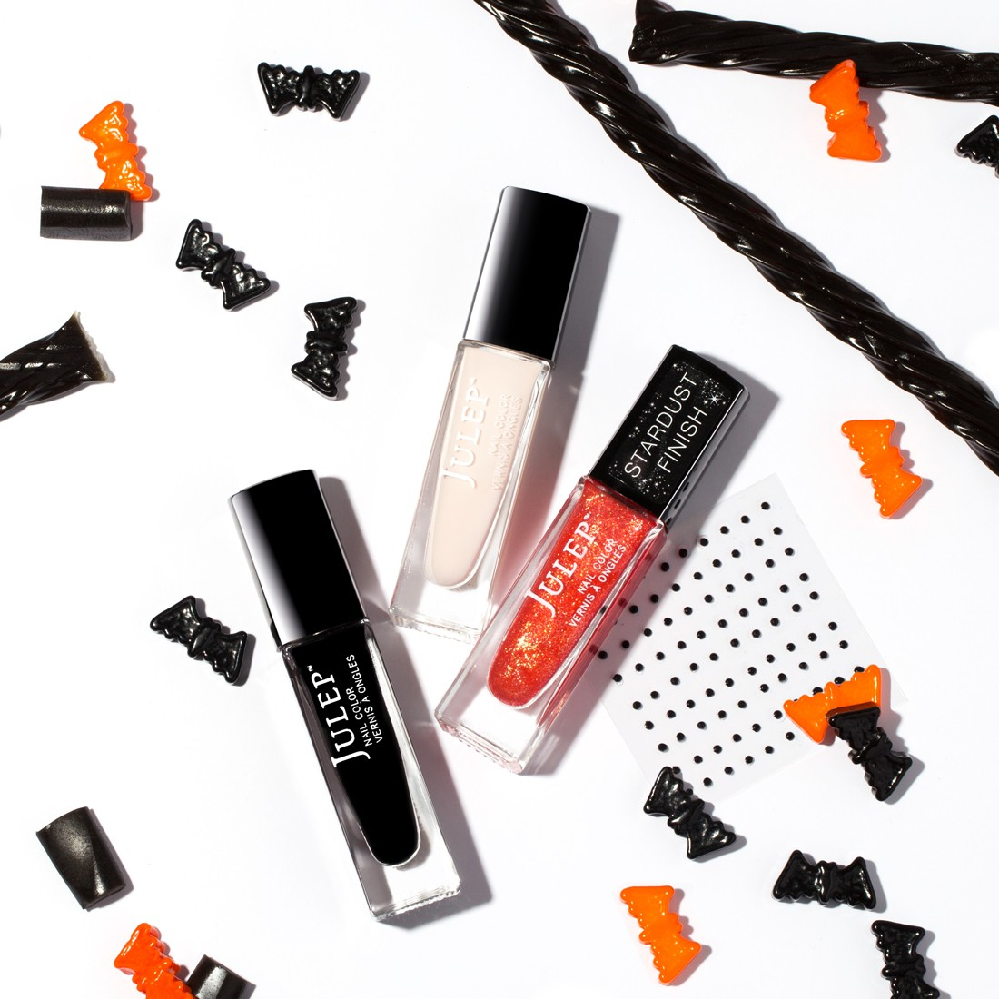 Pretty Spooky: Easy Halloween Nail Art Tutorial from Julep
