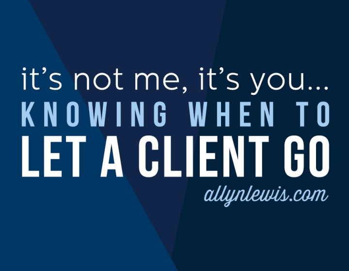 If you take these steps when building your business in the early days, then you'll be able to prune your client list without a second thought.