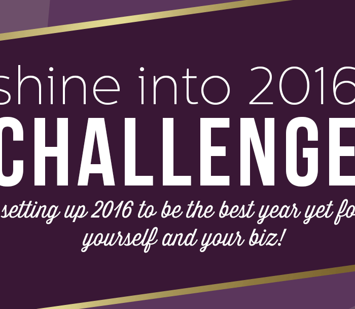 #ShineInto2016 – One Month Challenge for Entrepreneurs, Bloggers & Creatives