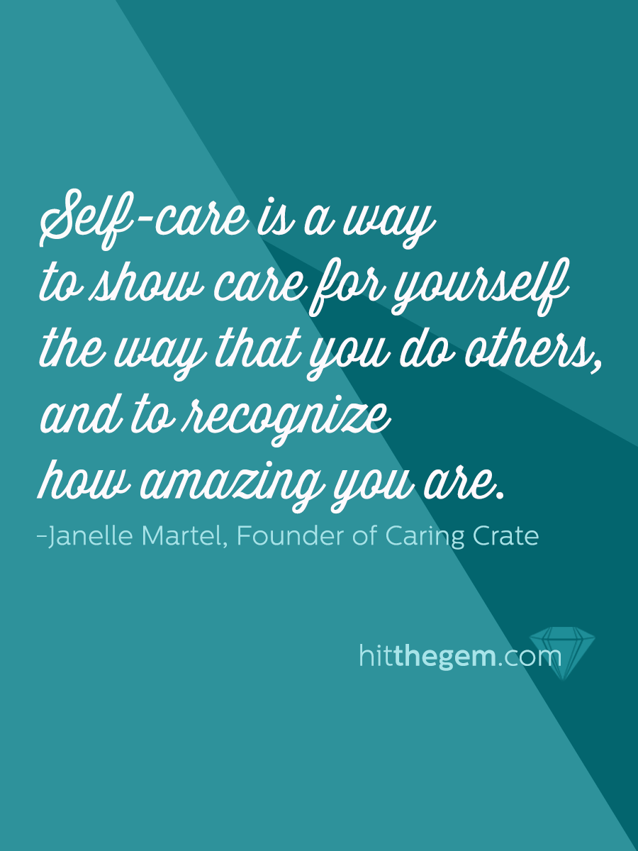 Self-care and success walk hand in hand.