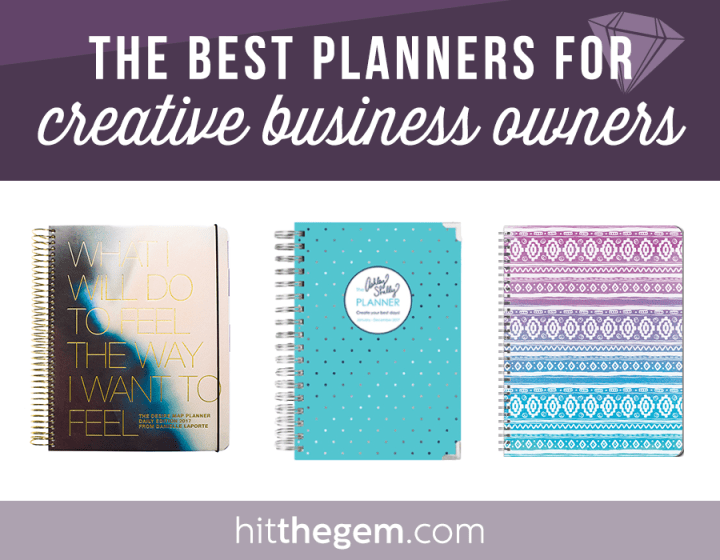 Ready to plan out those new year goals + to-dos? Here are 10 creative approved 2017 planner options!