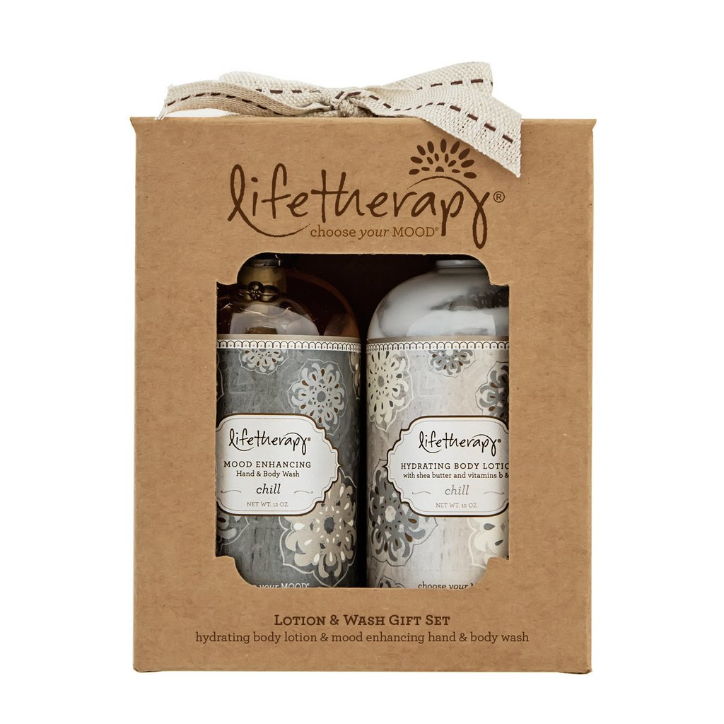 Lifetherpy CHILL Body Lotion & Wash Gift Set