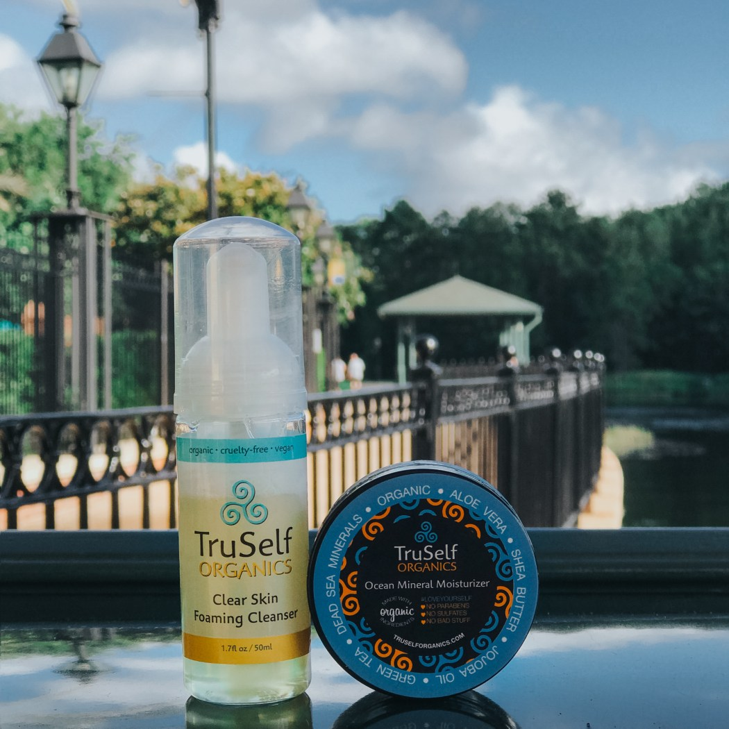TruSelf Organics Ocean Mineral Moisturizer + Clear Skin Foaming Cleanser, Organic Skincare, leaping bunny certified, cruelty-free skincare, cruelty-free brands | @truselforganics