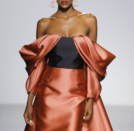Old World Meets the Modern Woman at Bibhu Mohapatra Spring 2018