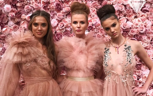 Michael Costello Spring Summer 2018 Womenswear at New York Fashion Week