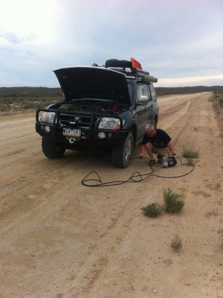 Pumping up the tyres