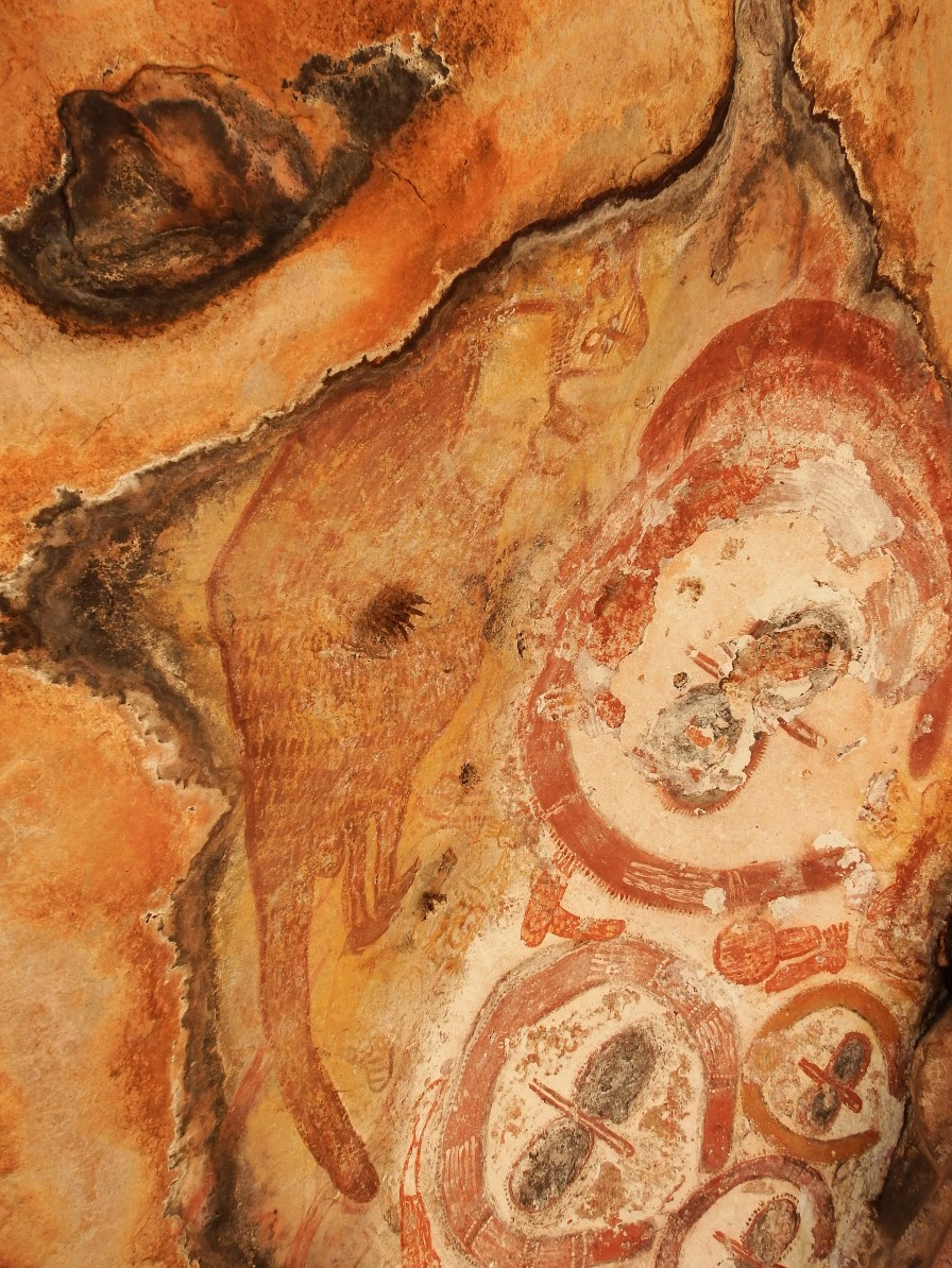 Aborignal Rock Art site on return journey