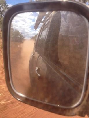 Eat Our Dust! on the Kalumburu Road