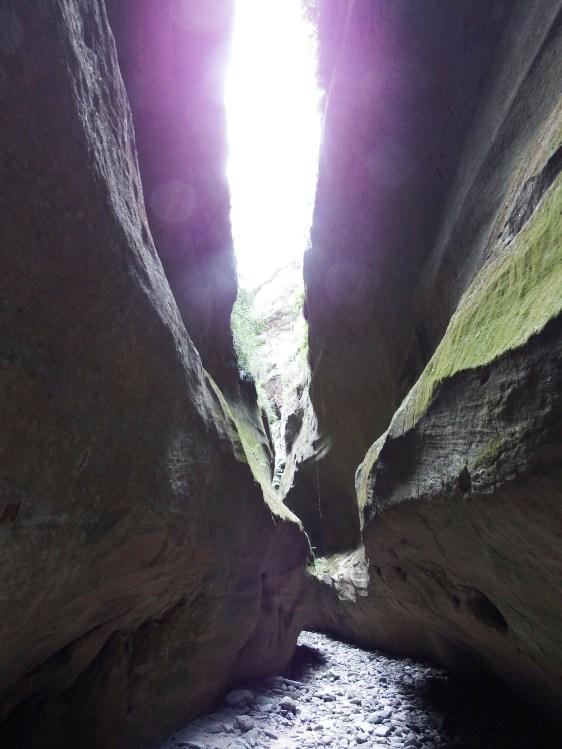 Inside Boowinda Gorge