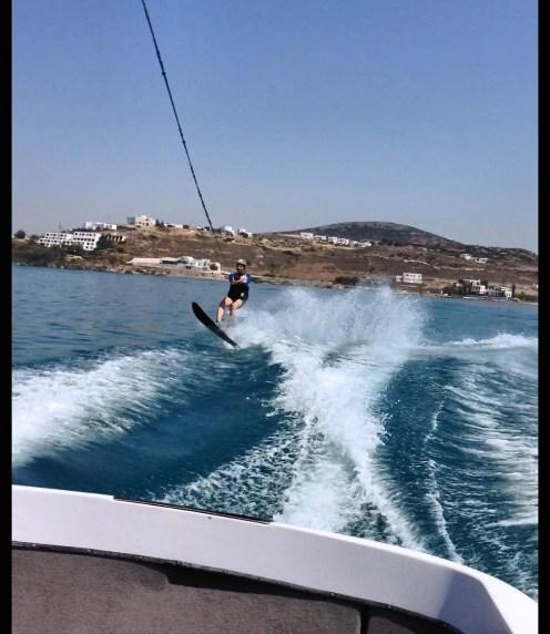 WaterSki zone Paros 2015