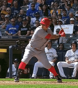 Shin-Soo Choo Arm Barring
