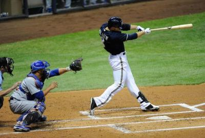 Ryan Braun Hitting Tips: staying long on the plane of the pitch