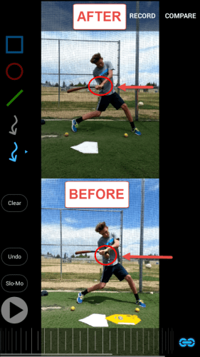 Baseball Swing Drills: Finger Pressure