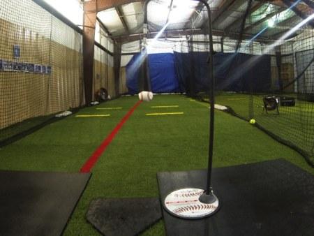 Baseball Batting Mechanics: Backspin Tee