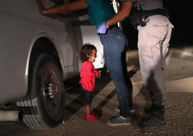 children separated and immigrants being detained