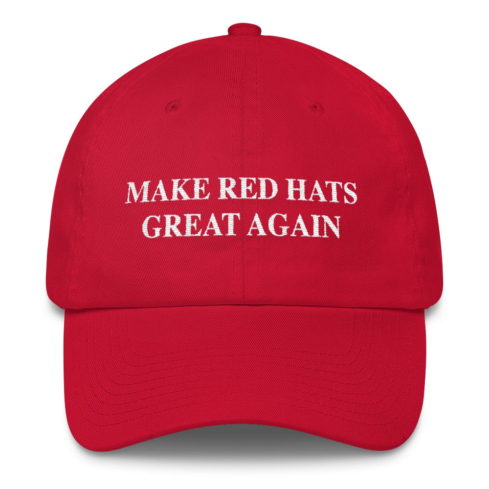 A Loaded Red Hat