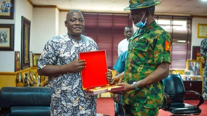 DICON Partners with Innoson Vehicles In Producing Military Hardware - MRAP EZUGWU