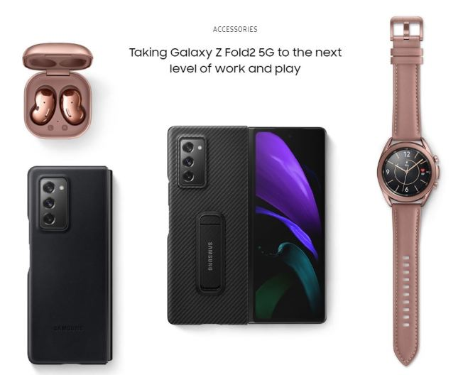 Galaxy Z Fold2 Accessories