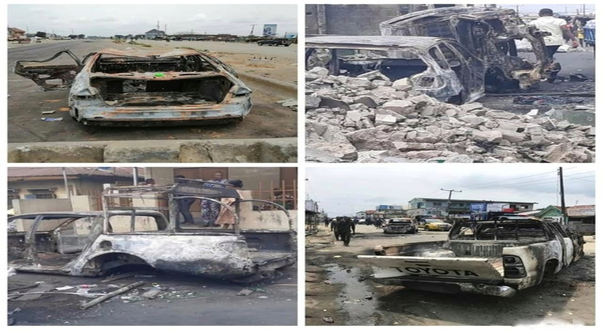 Four Stations, 50 cars, trucks and Barracks were burnt during Oyigbo crisis