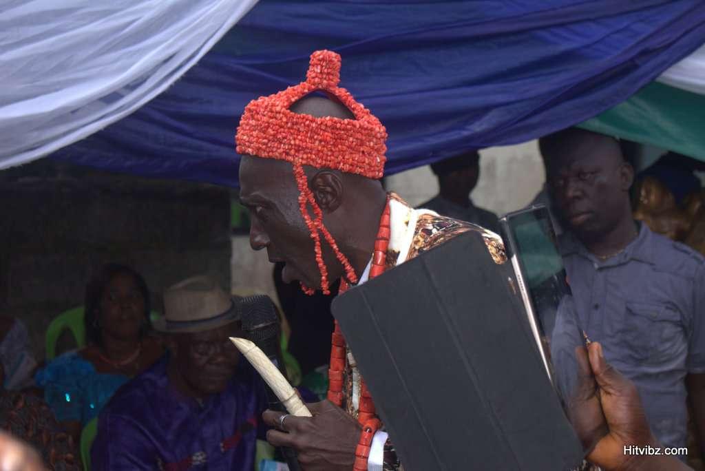 Rivers community, Egberu Ndoki crown Evang. Obum Akawor King