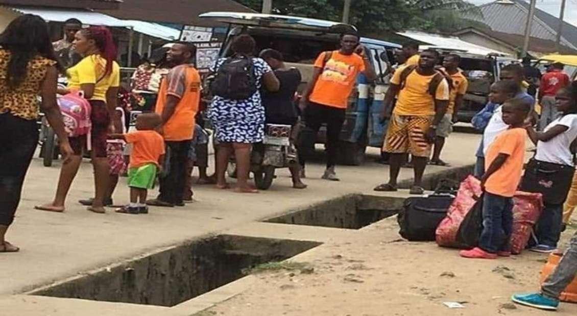 Resident flee Oyigbo