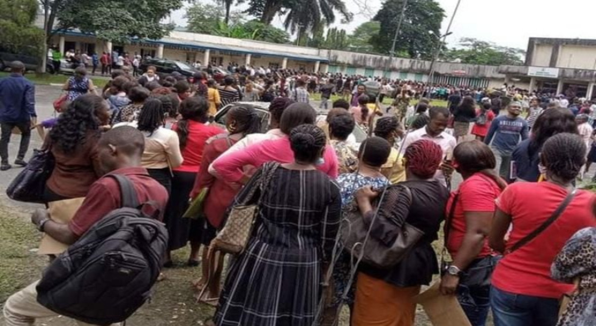 5000 Jobs: Rivers govt issues new directive to Applications to manage crowd