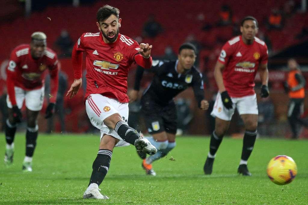 Premier League: Manchester United 2-1 Aston Villa
