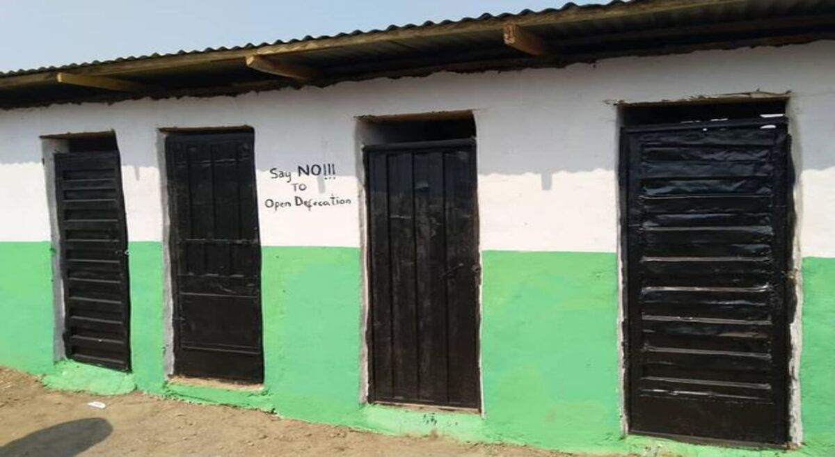 NYSC Member donates four-room public convenience to FCT community