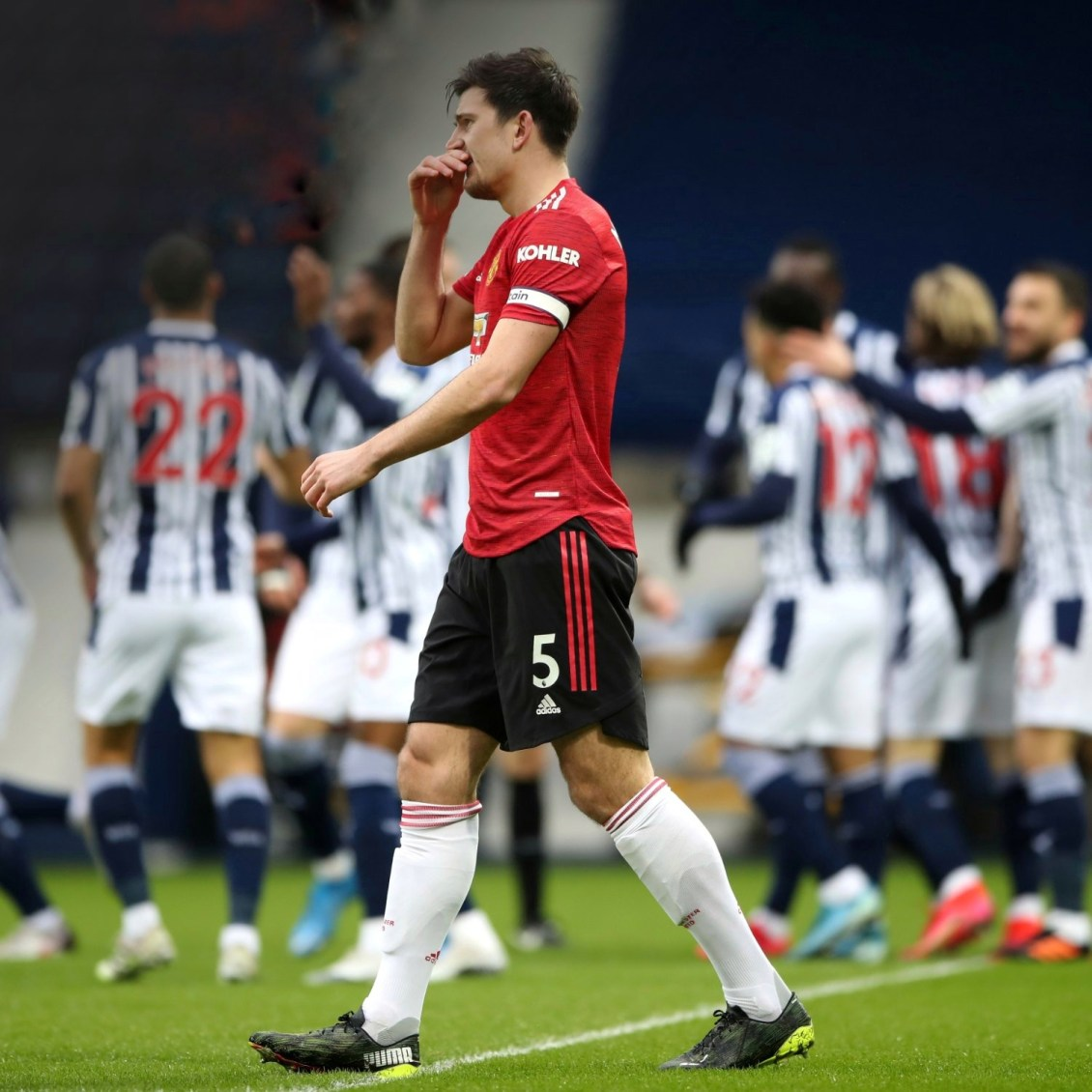 Premier League: West Brom 1-1 Manchester United   Hitvibz