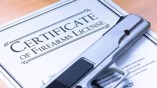 Licensed gun