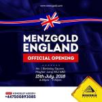 Menzgold Opens In London Today: Global Expansion Continues