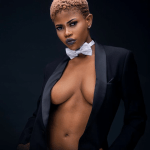 Fast rising Ghanaian model Naomi storms the internet with new pictures