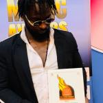 Danny Lampo Wins An Award In Uk Over The weekend(Best Male Newcomer)DBE Awards