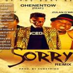 "Ohene Ntow To Release Remix Of His Hit Song ""Sorry"" From His Born Prince Die King Album"