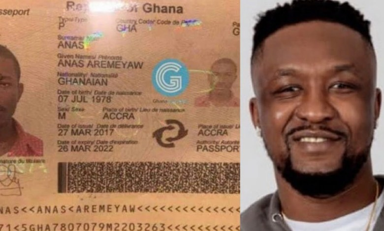 Real face of Anas Aremeyaw pops up after exposing Corona Quacks