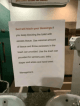 Restaurant in the US places curses on customers who block their toilets
