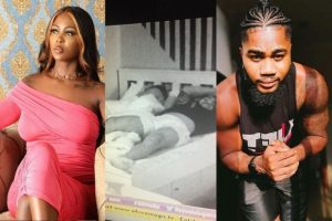 #BBNaija: Ka3na And I Only Kissed Aggressively Under The Sheets – Praise [Video]