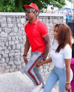 Engagement ring? Guests scream as Ike presents Mercy with a small box during her party (Video)