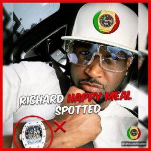 Fashion Police Calls Out Peter Okoye For Wearing Fake Richard Mille Wrist Watch (Photos)