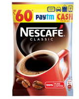 Free Rs. 60 Paytm Cash on Every Nescafe 50gm